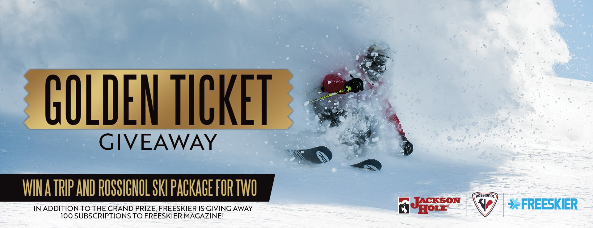 Golden Ticket Giveway